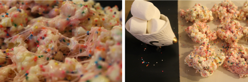 Our Rambling House | Confetti Popcorn Bars